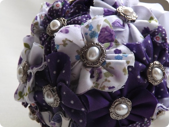 Bespoke Fabric Bouquets by Love To Marry