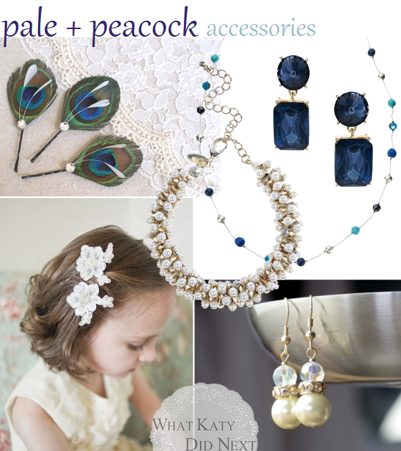 Pale and Peacock Accessories