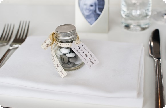 Wedding Favours - JP Photography