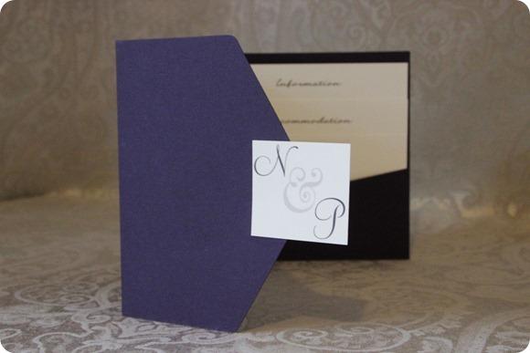 ATLD Aubergine Flourish Pocketfold £4.75