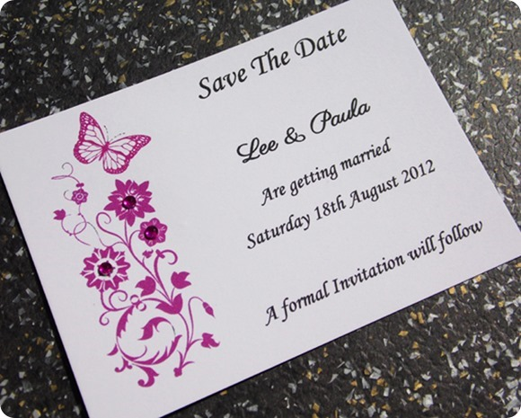 First Impressions Wedding Invitations