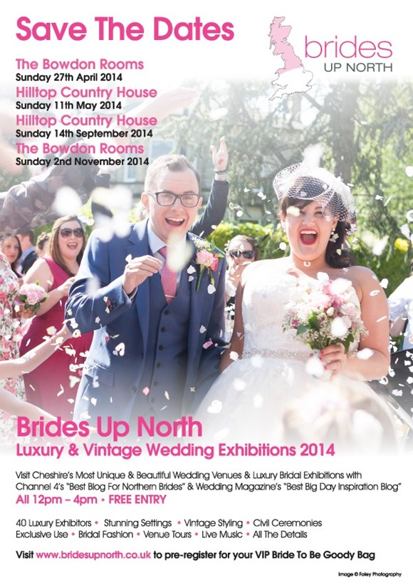 Brides Up North Luxury Wedding Exhibitions Cheshire 2014
