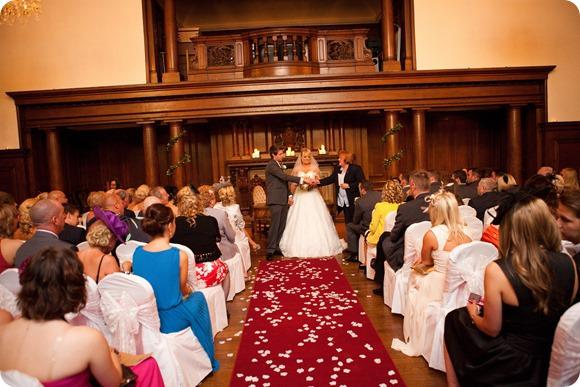 Beamish Hall Wedding by David E Williams
