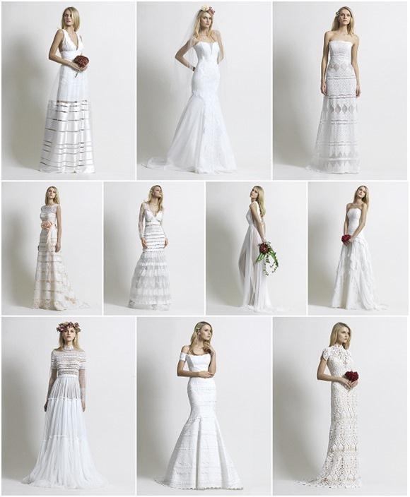 Wedding Dresses by Christos Costarellos