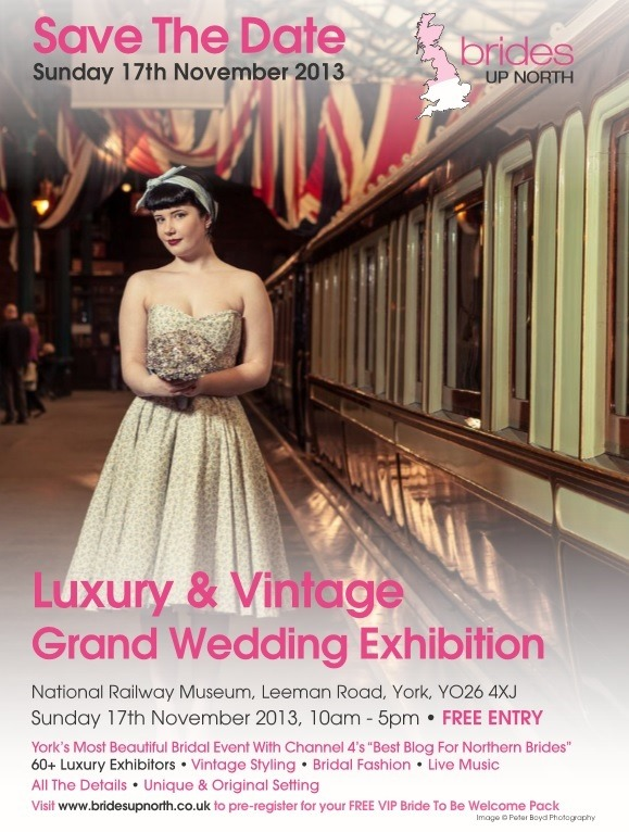 National Railway Museum York Luxury & Vintage Wedding Exhibition