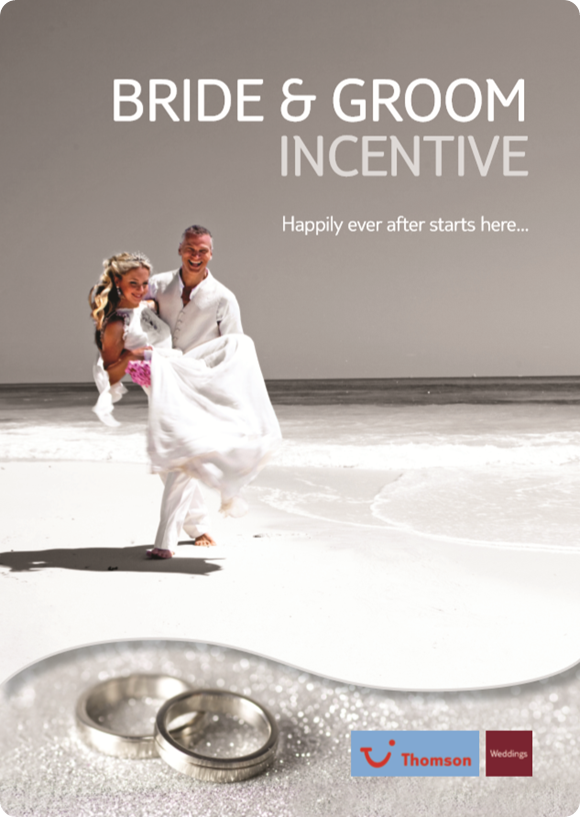 Thomson Weddings Bride & Groom Incentive