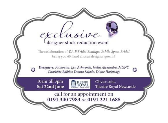 Mia Sposa & YAP Bridal Designer Event