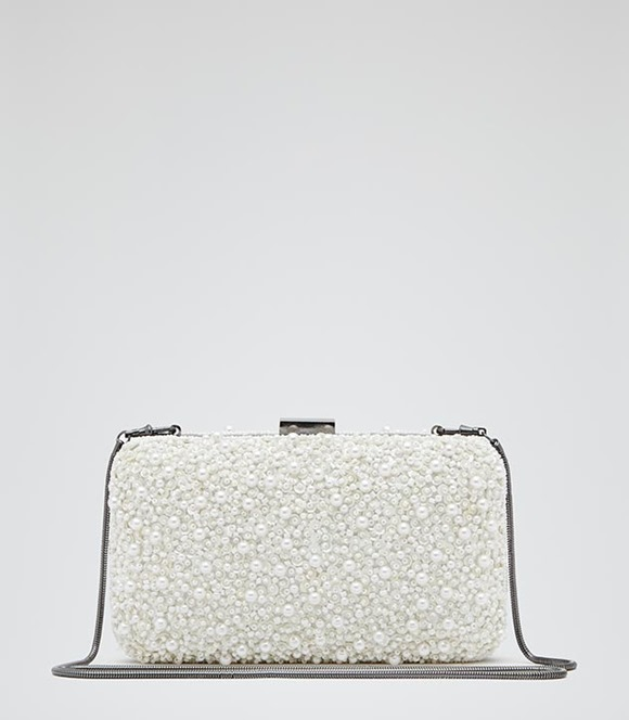 Miro Clutch by Reiss