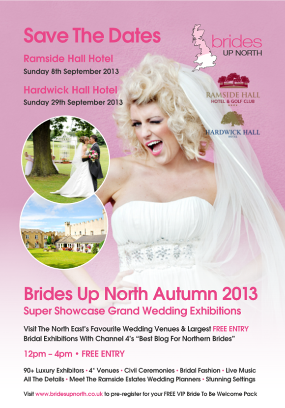 Ramside Estates Grand Wedding Exhibitions Autumn 2013