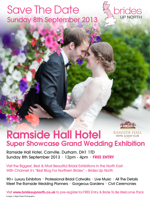 Ramside Hall Hotel Wedding Exhibition Autumn 2013