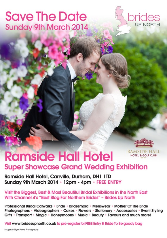 Ramside Hall Grand Wedding Exhibition Spring 2014