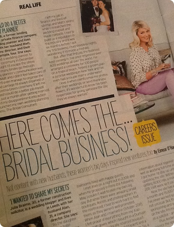 Brides Up North in Fabulous Magazine