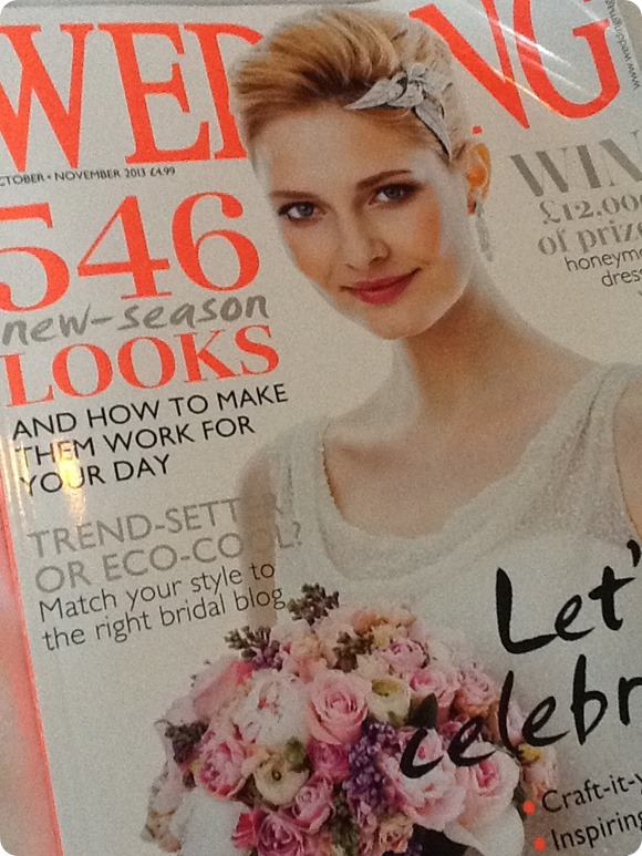Brides Up North in Wedding Magazine