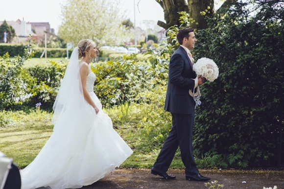Pretty vintage style wedding at Beeston Manor, Preston (c) Weddings By Luke