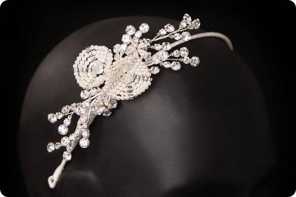 Violet by Polly Edwards at Damselle Tiaras