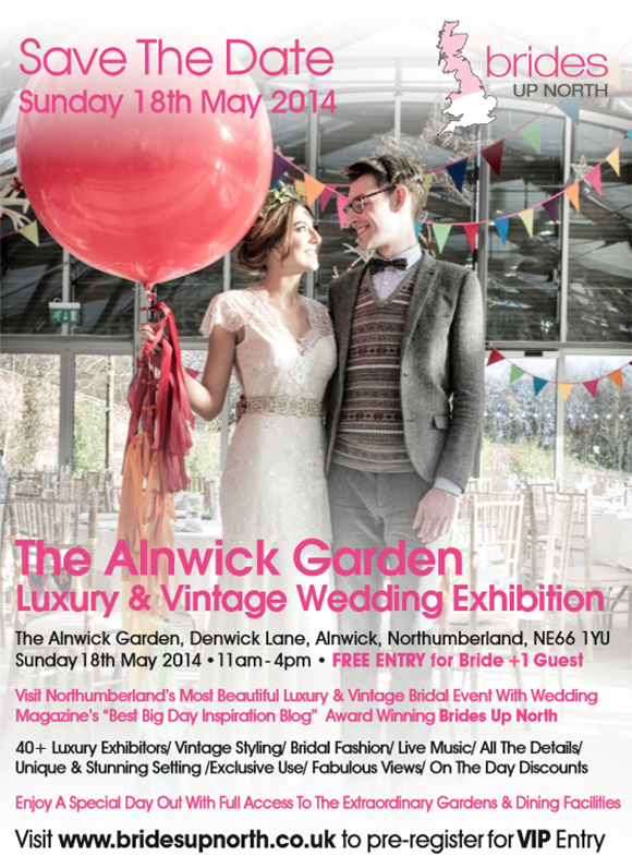 The Alnwick Garden Luxury Wedding Exhibition