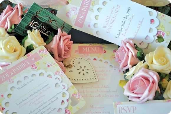 LG Design Studio Wedding Stationery