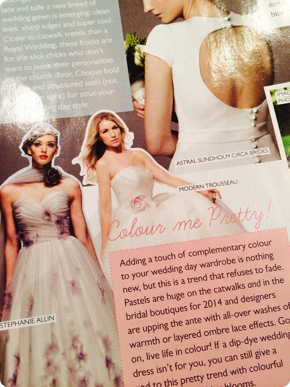 Brides Up North for Belle Bridal Magazine SS 14