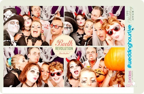 Booth Revolution at #weddinghourlive