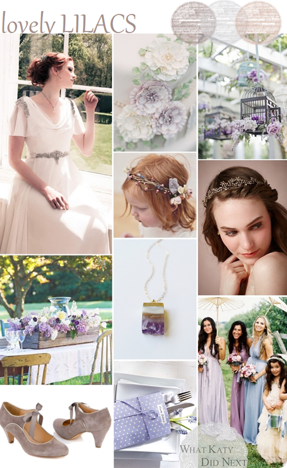 Lovely Lilacs Wedding Inspiration