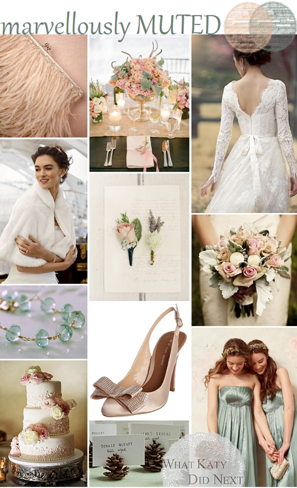 Marvellously Muted Wedding Inspiration
