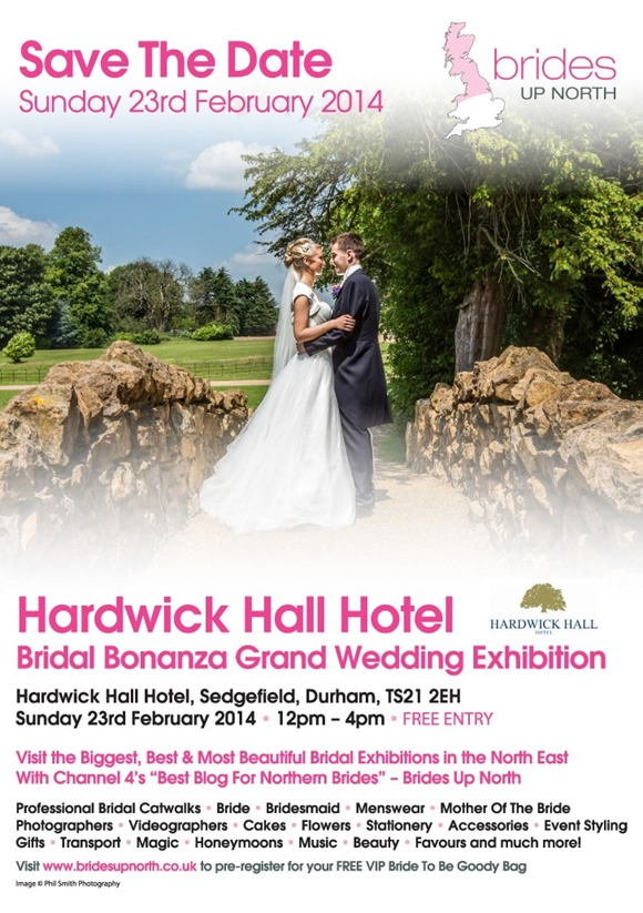 Hardwick Hall Grand Wedding Exhibition Spring 2014