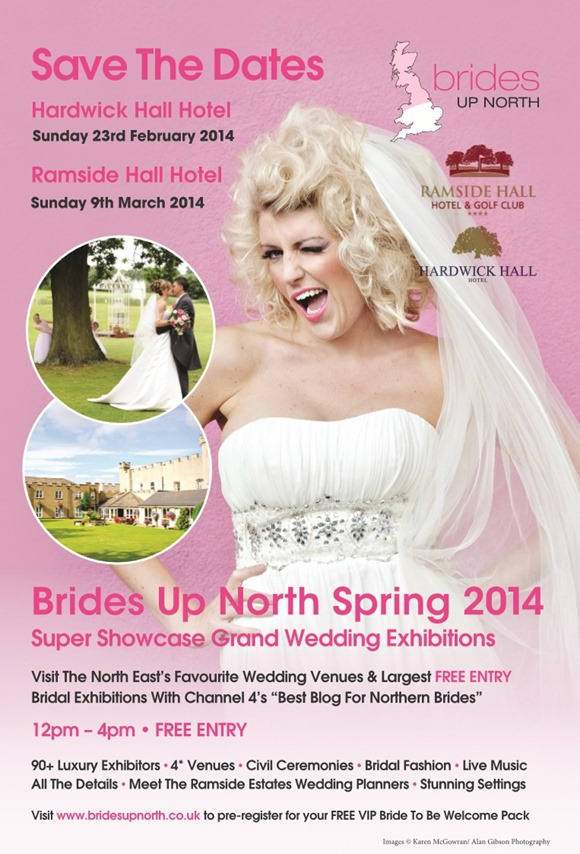 Brides Up North Grand Wedding Exhibition Spring 2014