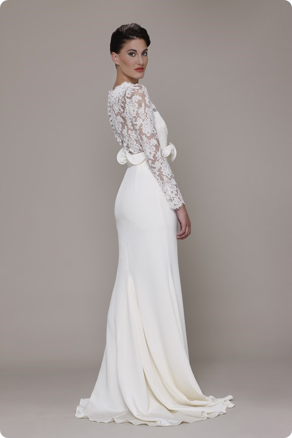 White Label 2014. The Designer Series: Elizabeth Stuart Bride -