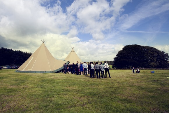a rustic wedding at Heaton House Farm (c) Chelsea Shoesmith (38)