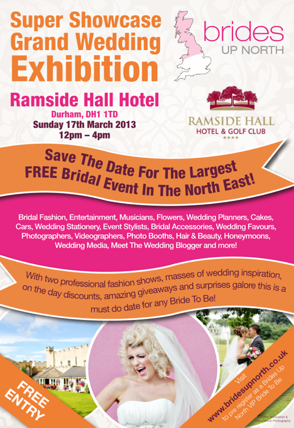 Brides Up North Super Showcase Grand Wedding Exhibition Spring 2013