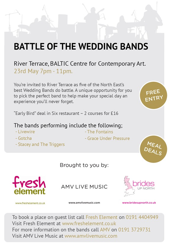 Battle of The Wedding Bands May 2013