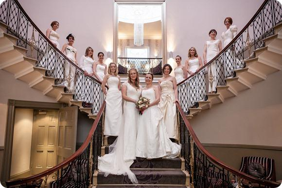 The Wedding Dress Ball at The Mansion by Peter Boyd Photography