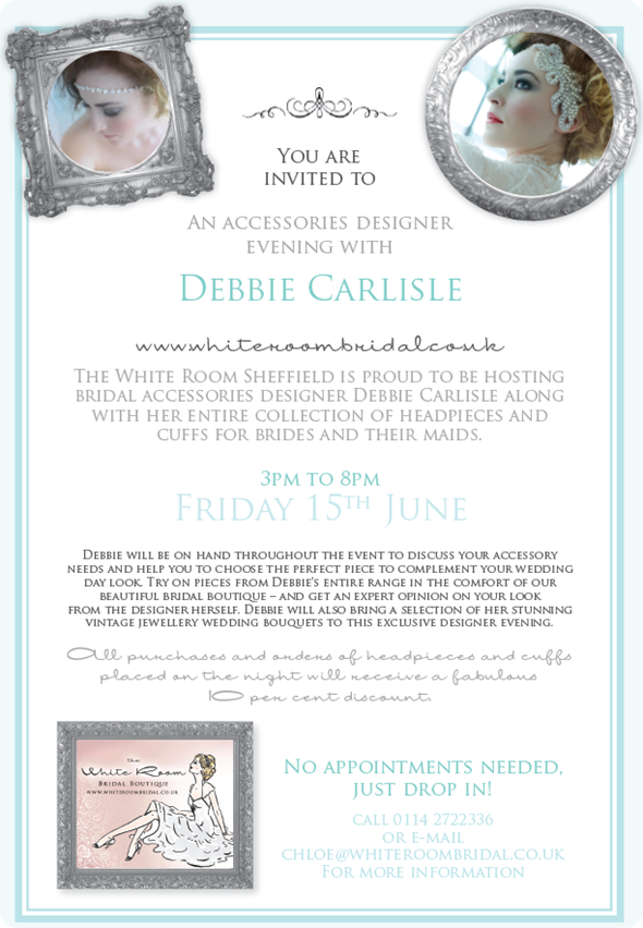Debbie Carlisle Accessories Event at The White Room Sheffield