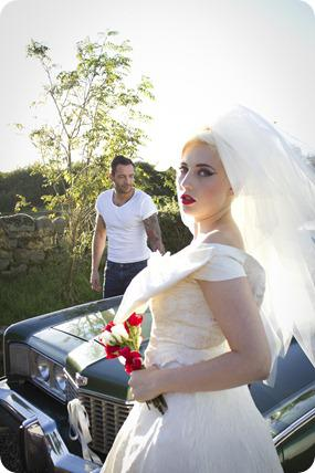 Rockabilly Bridal Shoot by David Hill Photography