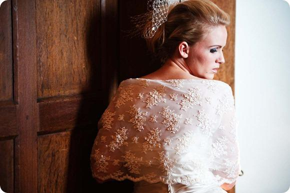 Champagne corded lace shrug