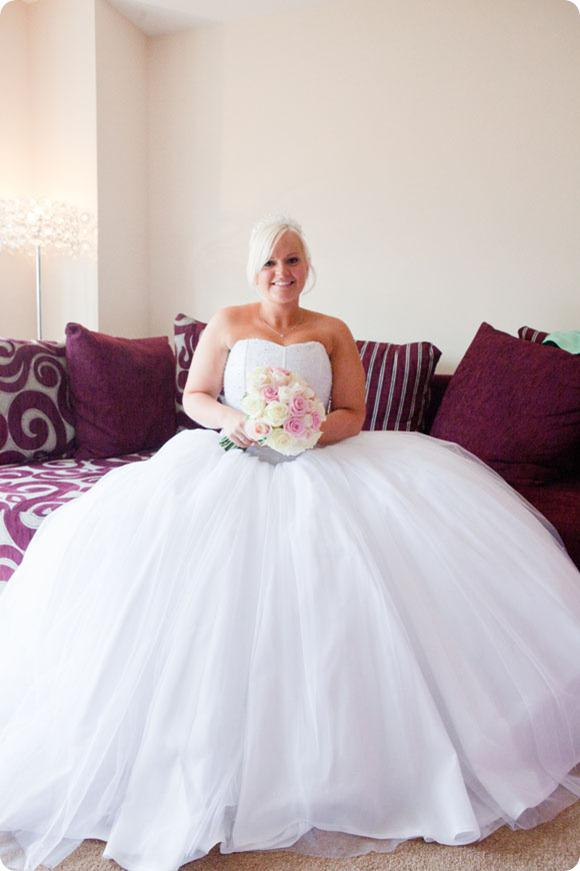 Princess wedding by Claire Evans Photography