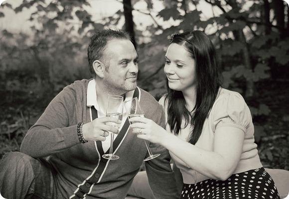 A Woodland Engagement by G & S Photography