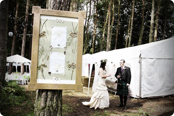 Outdoor wedding by Angel Fish Photographic