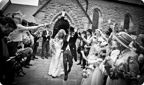 A Real White Wedding in the North East by Sean Elliott Photography