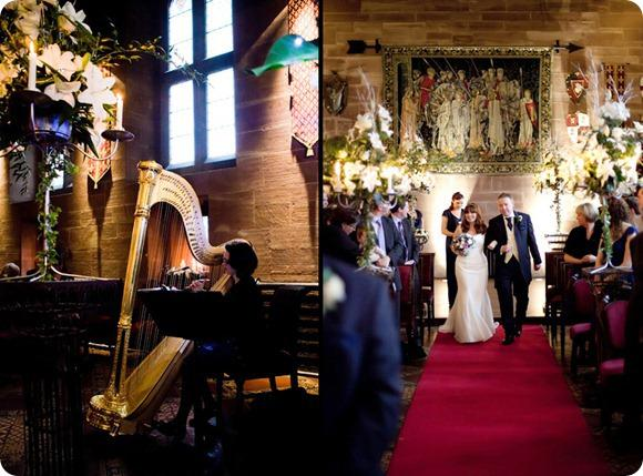 A Real Wedding at Peckforton Castle by Lee Brown Photography