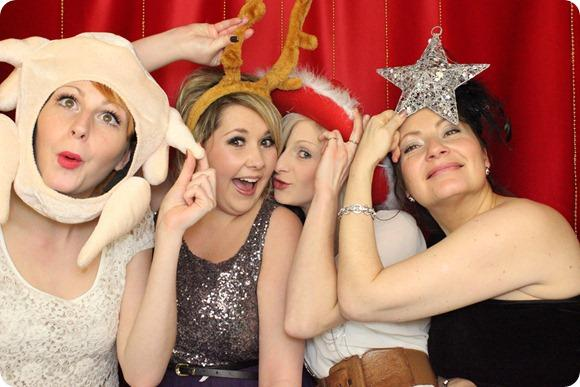 Brides Up North Christmas Party by Limelight Photobooth Hire