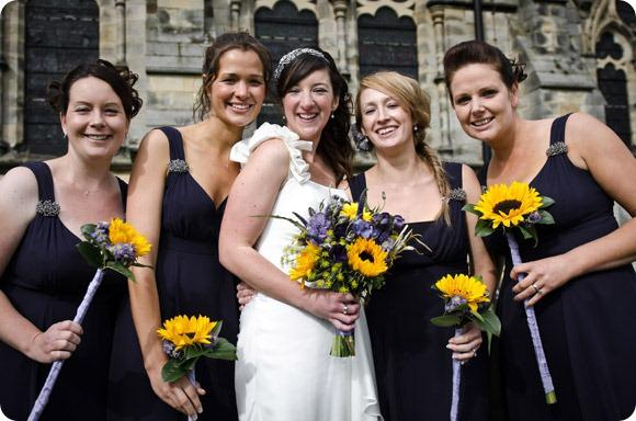 Sunflower wedding by JB Creatives