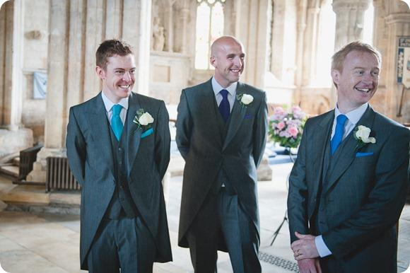 Turquoise groom by Chris Milner Photography