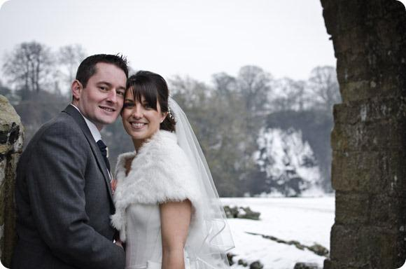 A winter wedding at Bolton Abbey by JB Creatives