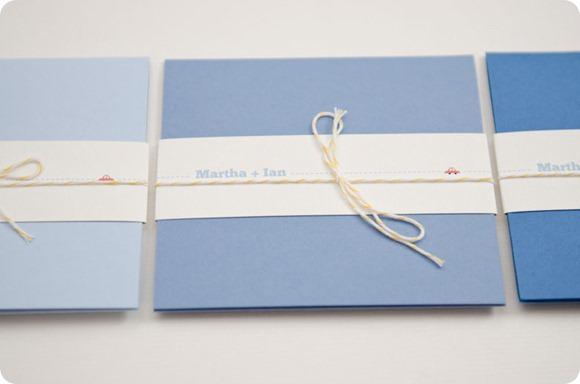 Wedding invitations by JB Creatives