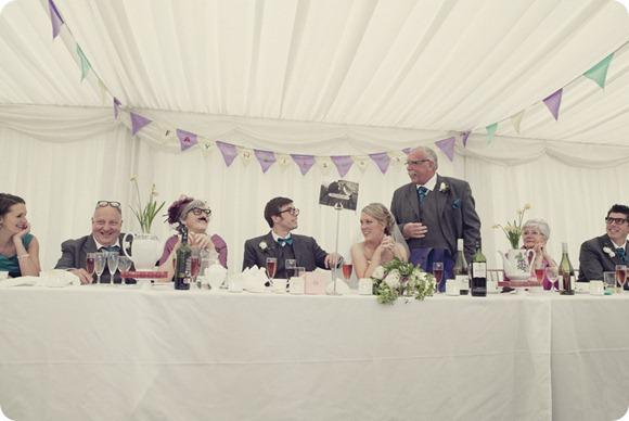 A Colourful Vintage Marquee Wedding by Lissa Alexandra Photography