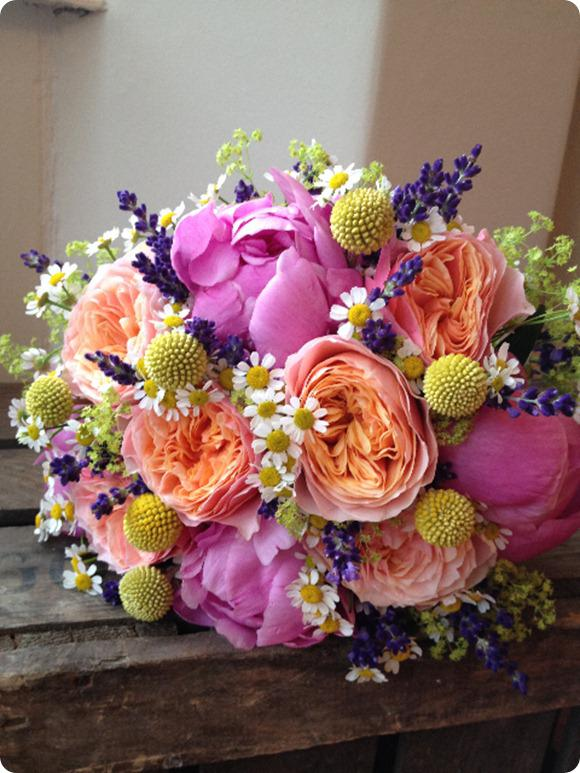 Bouquet for July by Leafy Couture