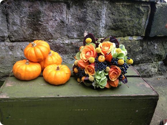 October Bouquet by Leafy Couture
