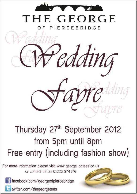 The George Of Piercebridge Wedding Fayre