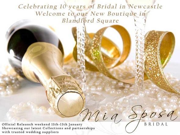 Mia Sposa Bridal & Menswear Launch Weekend